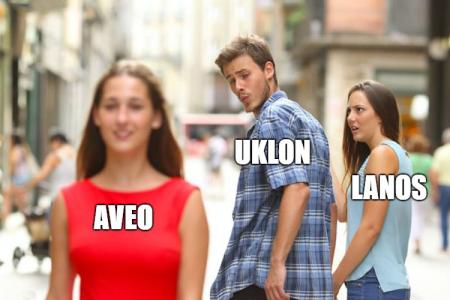 Uklon окончательно попрощался в Киеве с «ланосами» (и не только) и запустил по этому случаю конкурс мемов