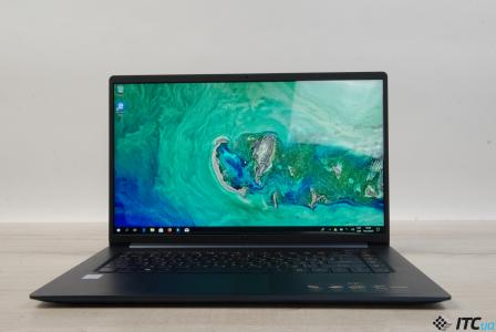 Обзор ультралегкого ноутбука Acer Swift 5 (SF515-51T)