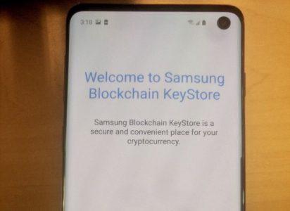 Свежая утечка указывает на то, что смартфон Samsung Galaxy S10 получит криптовалютный кошелек