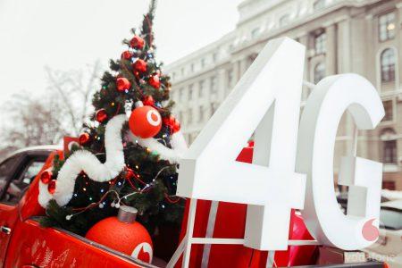 В зимние праздники абоненты Vodafone Украина загрузили 6 петабайт трафика (это в 12 раз больше, чем три года назад), из которых 50% пришлось на 4G