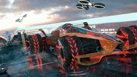 Команда McLaren представила, как будет выглядеть чемпионат Formula 1 в 2050 году: электромобили с индуктивной зарядкой, скорости до 500 км/ч, безумные трассы и ИИ-помощники (MCLExtreme)