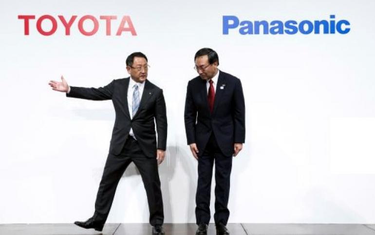 Тойота иPanasonic займутся производством твердотельных аккамуляторных батарей для электромобилей