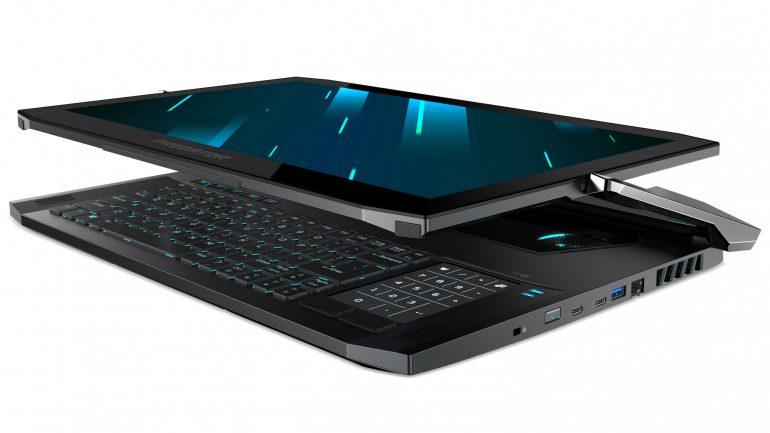 ОБНОВЛЕНО: Игровой ноутбук-трансформер Acer Predator Triton 900 поступит в продажу по цене $4000