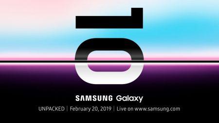 Официально: Samsung Galaxy S10 представят 20 февраля