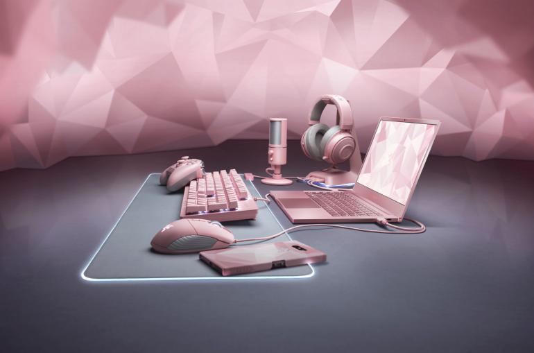 Razer подготовила ко Дню Святого Валентина свой первый ноутбук в розовом цвете – Razer Blade Stealth Quartz