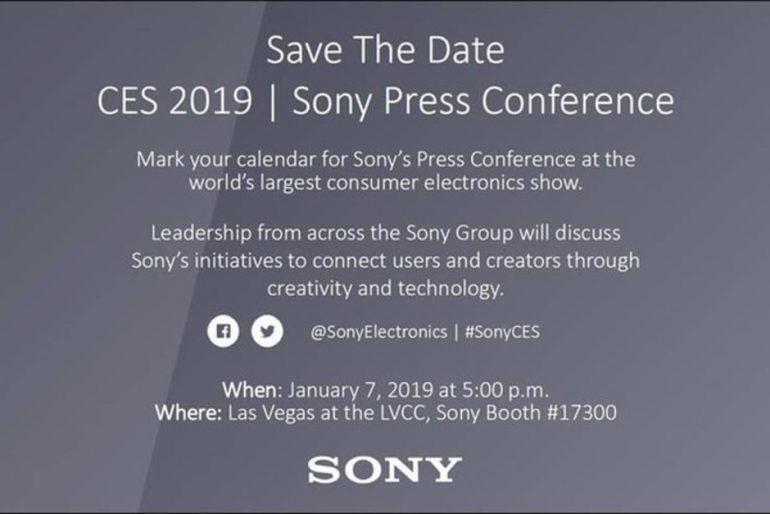Sony проведет пресс-конференцию перед началом выставки CES 2019, где ожидается анонс новых смартфонов Xperia XA3,XA3 Ultra иL3