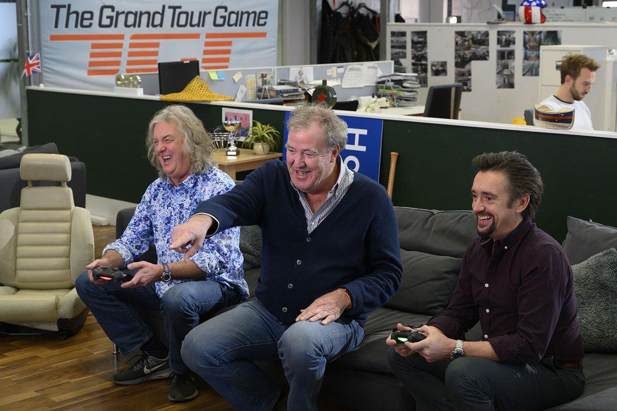 Практически одновременно вышли новый сезон автошоу The Grand Tour и автосимулятор The Grand Tour Game, в сети уже есть геймплейные ролики последнего