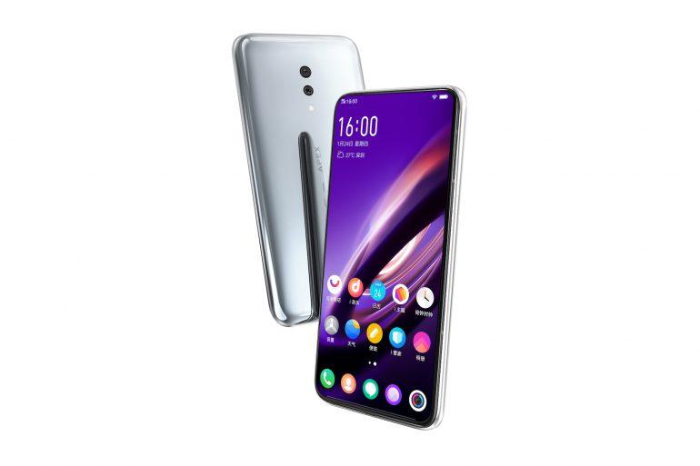 «Как Meizu Zero, только еще интереснее»: Представлен смартфон Vivo APEX 2019 с безрамочным экраном, считывающим отпечатки пальцев по всей площади, SoC Snapdragon 855, 12 ГБ ОЗУ и 5G