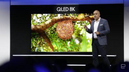 Samsung показала 98-дюймовый 8K телевизор с поддержкой ИИ и виртуальных ассистентов