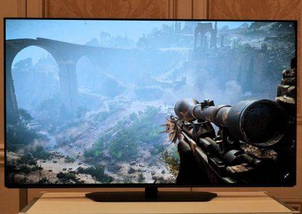 Alienware показала 55-дюймовый игровой 4K OLED монитор