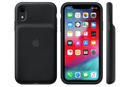 Apple выпустила новые чехлы с аккумулятором Smart Battery Case для смартфонов iPhone Xs, Xs Max и iPhone Xr с беспроводной зарядкой Qi