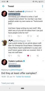 Twitter тестирует специальную пометку для пользователя, начавшего обсуждение