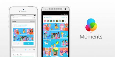 Facebook закроет приложение Moments, позволяющее пользователям обмениваться фотографиями, не загружая их в саму соцсеть