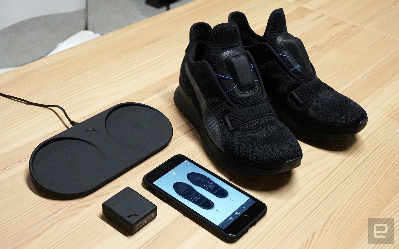 Puma представила кроссовки Fi с автоматической шнуровкой - ITC.ua dc9cb942f81