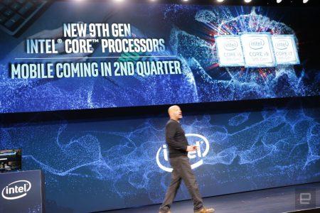 Intel представила секстет новых настольных процессоров Core девятого поколения (i9-9900KF, i7-9700KF, i5-9600KF, i5-9400, i5-9400F и i3-9350KF)