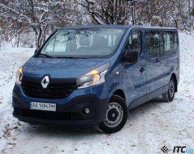 Тест-драйв Renault Trafic: простой, но честный вэн