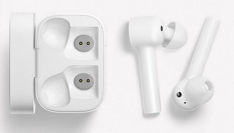новые полностью беспроводные наушники Xiaomi выглядят как Apple