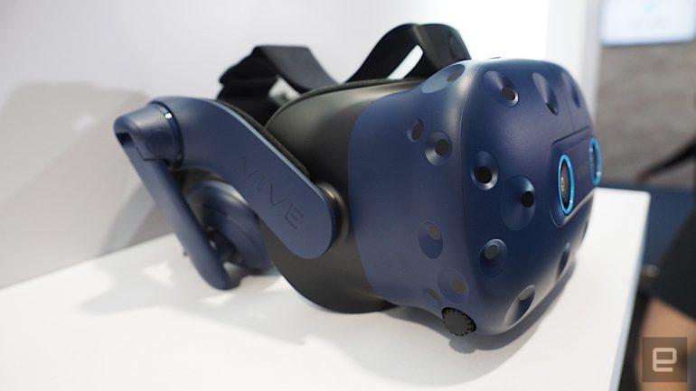 Обновленная VR-гарнитура HTC Vive Pro Eye получила функцию отслеживания направления взгляда пользователя