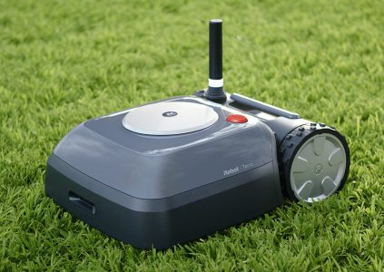 IRobot introduced its first Terra Grass Mower. Compact, autonomous and electric.