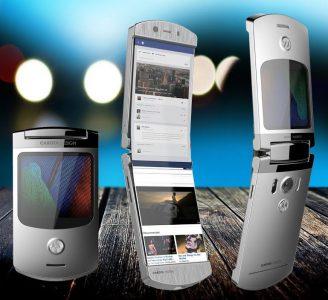 Возвращение легенды. Новая «раскладушка» Motorola RAZR со сгибающимся экраном обойдется в $1500