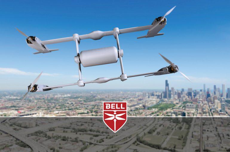 """Компания Bell Helicopter испытала беспилотный грузовой """"тейлситтер"""""""