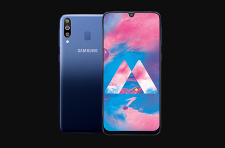 The Samsung Galaxy M30 smartphone launched: Super AMOLED big screen, 6GB RAM, 128GB memory and a 5000 mAh battery with a $ 250 price.