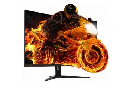 AOC CQ32G1 — новый игровой 31,5-дюймовый QHD-монитор с изогнутым VA-дисплеем по цене 12900 грн