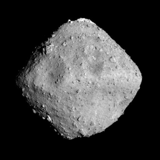 Японский космический зонд Hayabusa-2 совершил успешную посадку на астероид Ryugu и взял пробы грунта с его поверхности