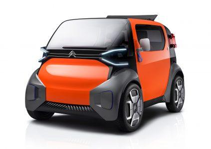 Citroen привезет в Женеву городской двухместный электромобиль Ami One Concept с запасом хода 100 км, для управления которым не нужны права