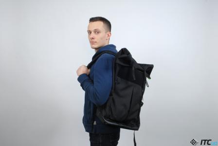Обзор рюкзака Флетайрон от украинской компании Keep