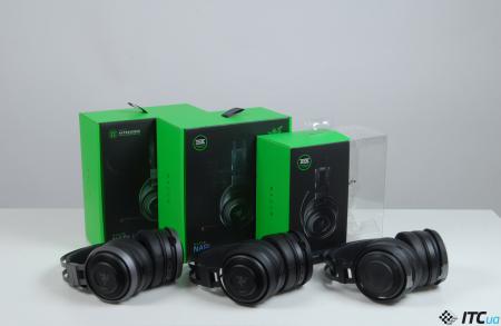 Обзор линейки игровых гарнитур Razer Nari: THX, Hypersense и RGB