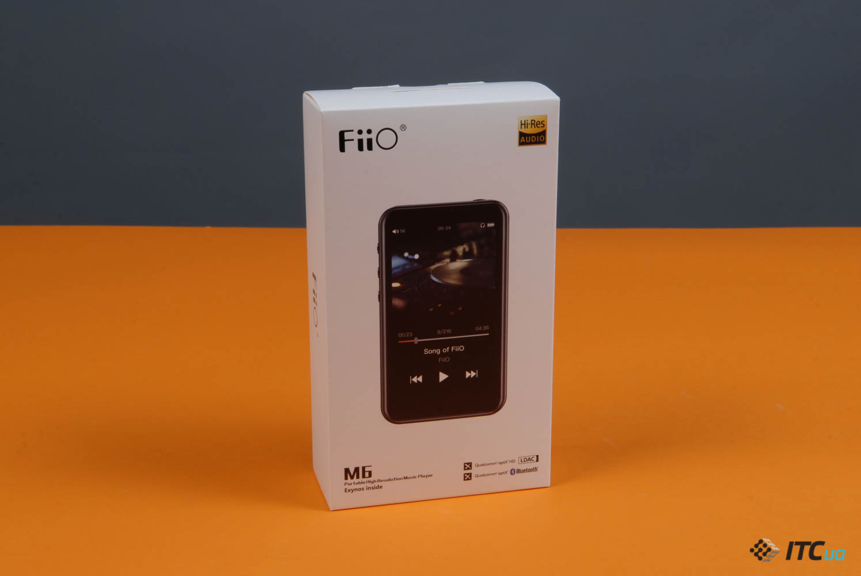 Обзор портативного Hi-Res плеера FiiO M6