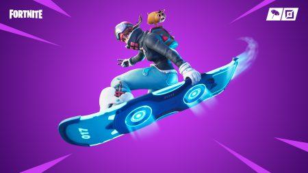 В Fortnite добавили летающие сноуборды и специальный режим «Адреналин» для командных сражений на них [видео]