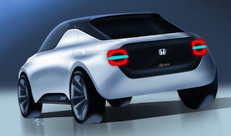 Студенты из Турина разработали для Honda концепт молодежного электромобиля Tomo, его покажут на Женевском автосалоне вместе с серийным Honda Urban EV