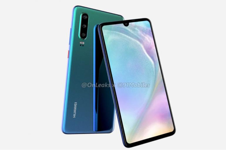 Официально: Huawei представит новые флагманские смартфоны Huawei P30 в Париже в конце марта