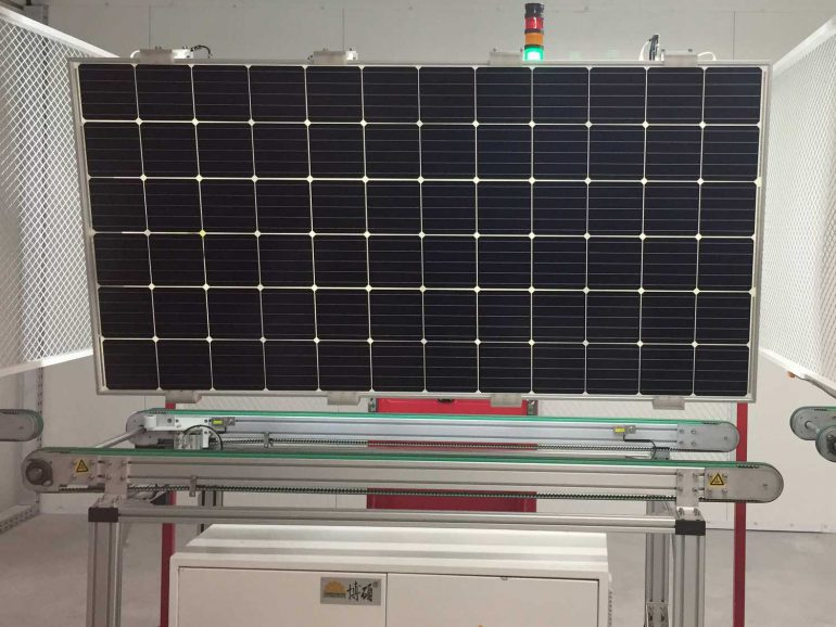 В Виннице открыли крупный завод по производству солнечных панелей Kness Pv