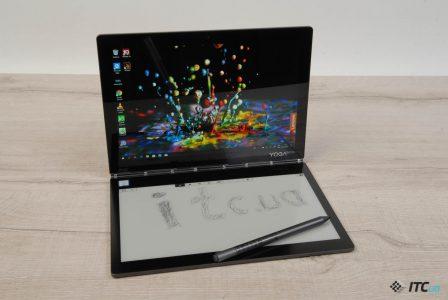 Обзор Lenovo Yoga Book C930: E Ink экран вместо клавиатуры