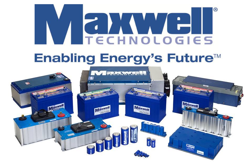 Tesla покупает разработчика технологий для батарей Maxwell Technologies за $218 млн