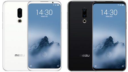 Живые фото смартфона Meizu 16sPlus демонстрируют дизайн с рекордно тонкими симметрическими рамками без каких-либо вырезов или отверстий