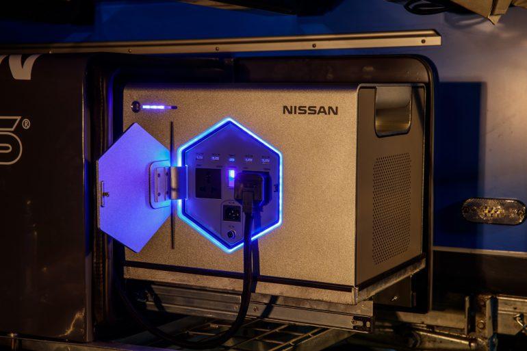 Nissan x OPUS — концептуальный кемпер, который использует отработанные батареи электромобилей для обеспечения туристов энергией