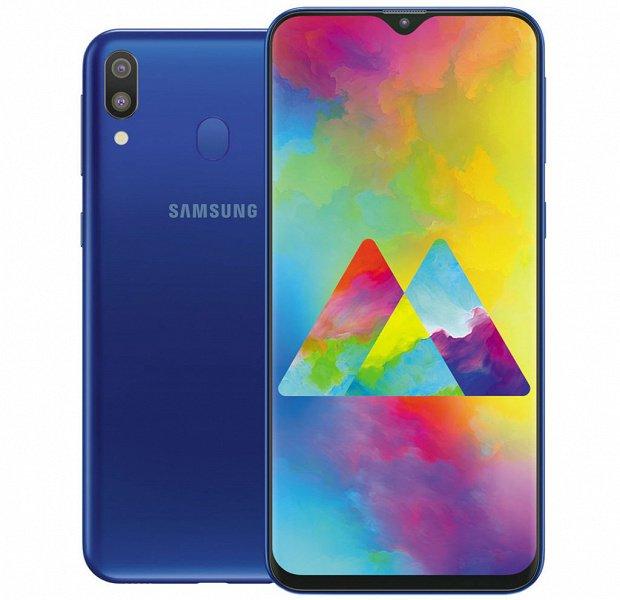 Бестселлер Samsung Galaxy M20 с аккумулятором на 5000 мА·ч выходит в Украине