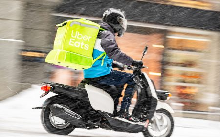 Официально: Uber Eats начинает работу в Киеве