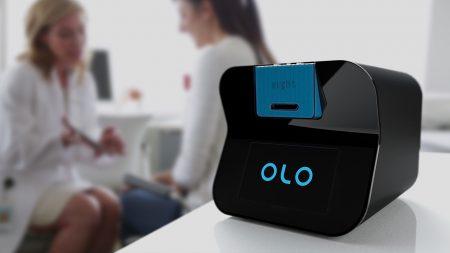 Созданный израильскими специалистами аппарат Olo проводит клинический анализ крови всего по двум каплям и за 10 минут