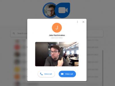 Google запустила веб-версию мессенджера Duo с голосовыми и видео звонками