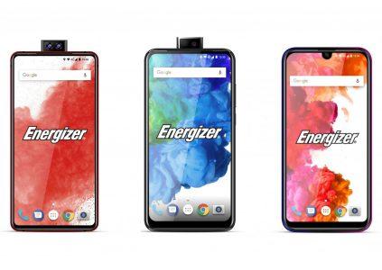 Energizer покажет на MWC 2019 смартфоны с выдвижной камерой, складным дисплеем и батареей ёмкостью 18000 мАч