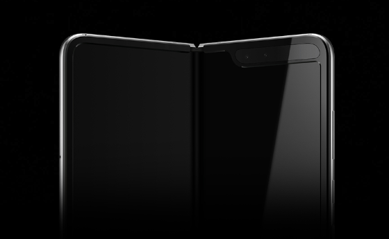 Складывающийся смартфон с гибким экраном Samsung Galaxy Fold красуется на первых официальных изображениях перед сегодняшним анонсом