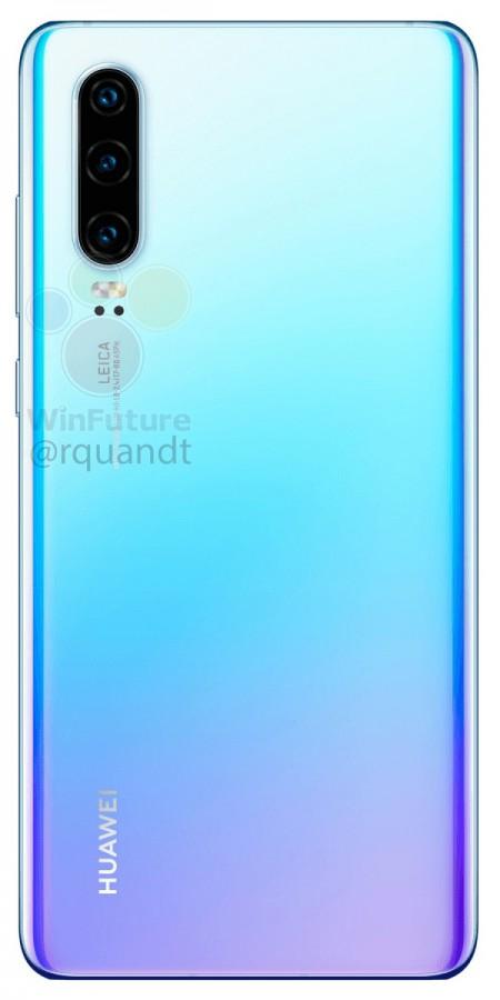 Опубликованы официальные изображения флагманских камерофонов Huawei P30 и Huawei P30 Pro