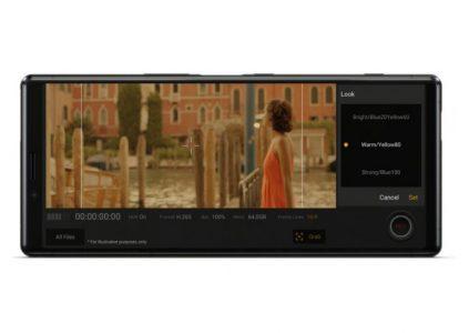 Новый флагман Sony Xperia 1 первым получил «кинематографический» дисплей 4K OLED с соотношением 21:9