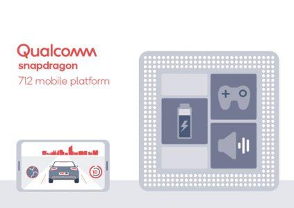 Qualcomm анонсировала мобильную платформу Snapdragon 712, которая на 10% быстрее Snapdragon 710