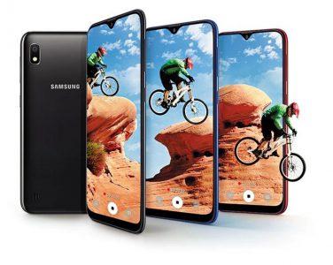 Смартфон Samsung Galaxy A10 с 6,2-дюймовым экраном Infinity-V и аккумулятором на 3400 мА·ч лишь немногим дороже $100